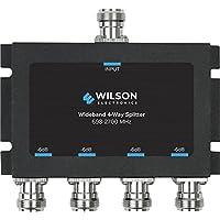 Wilson Electronics -6 dB 4-Way Splitter, N-Female (50 Ohm)