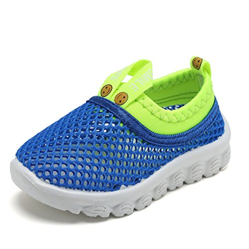 Kids Light Weight Sneakers Aqua Shoes Breathable Slip-on For Running Pool Beach Toddler / Little Kid