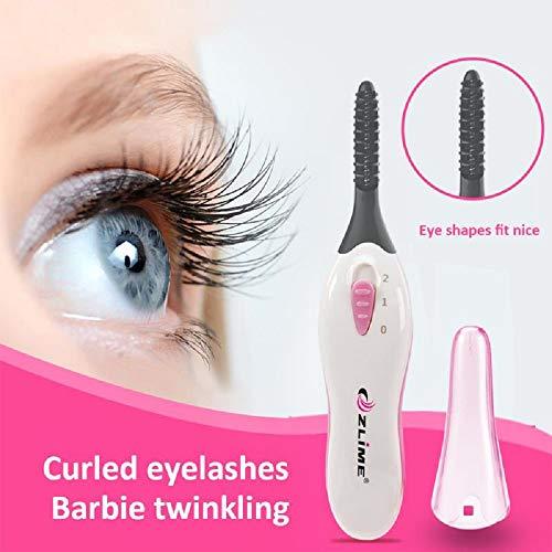 Heated Eyelash Curler Portable Eye Lash Curlers Electric Eyelash Curling Tool