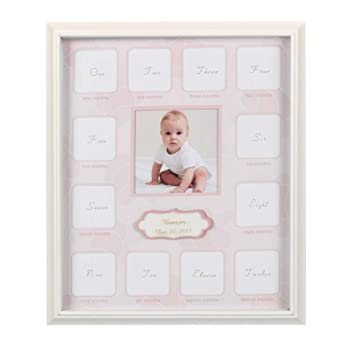 Amazon.com : Collage Photo Frame for Baby First Year Keepsake ...