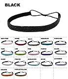 Bulk LOT Bling Rhinestone Headband Elastic Stretch Hair Band Hair Accessory (25x)