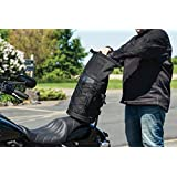 Kuryakyn 5223 Momentum Deadbeat Expandable Motorcycle Travel Luggage: Weather Resistant Duffle Bag with Sissy Bar Straps, Black