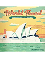 World Travel Vintage Art Posters 2022 Wall Calendar by Anderson Design Group