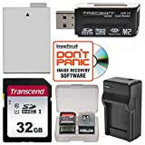 LP-E8 Battery & Charger + 32GB SD Card Essential Bundle for Canon Rebel T3i, T4i, T5i Digital SLR Camera
