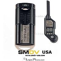 RFN-4s Wireless Remote Shutter Release for Nikon DSLR with MC30 Type connection (Nikon D200, D300, D300s, D500, D700, D800, D800E, D810, D1, D2, D3, D3x, D3s, D4, D5) - Transmitter and Receiver Set
