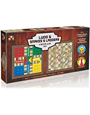 Toys Box Ludo Snakes and Ladder Premium Big - 6 Years & Above
