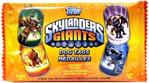 MLB Skylanders Giants Dog Tags
