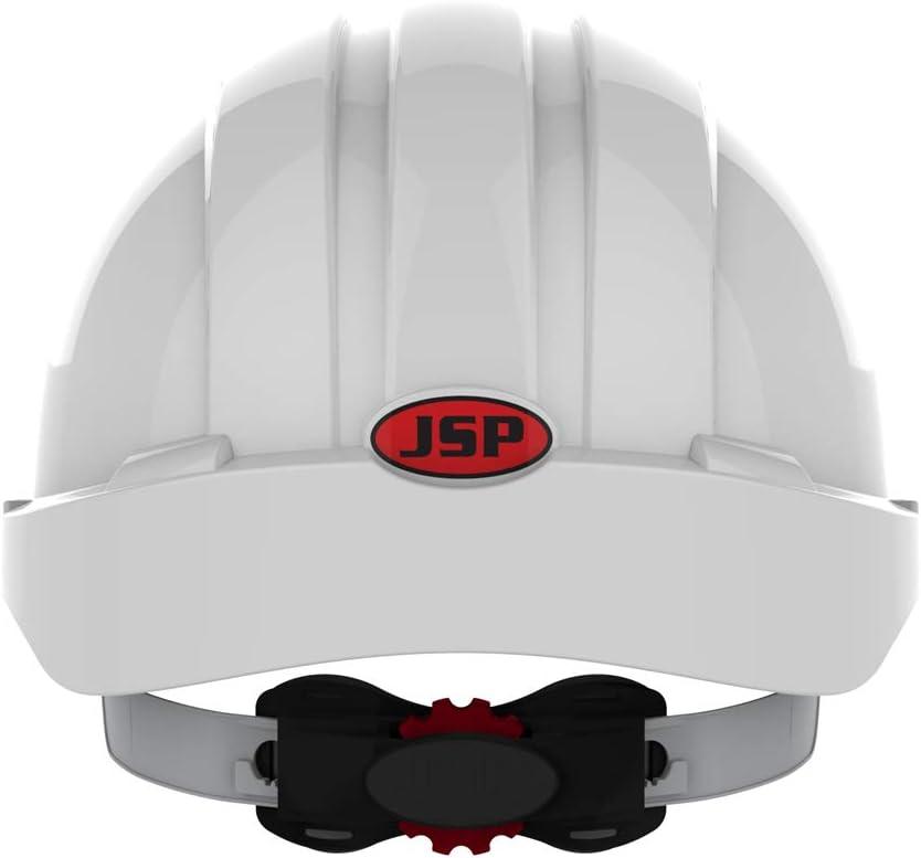 JSP aje170 – 000 – 100 EVO3 revolución rueda trinquete casco, color blanco: Amazon.es: Industria, empresas y ciencia