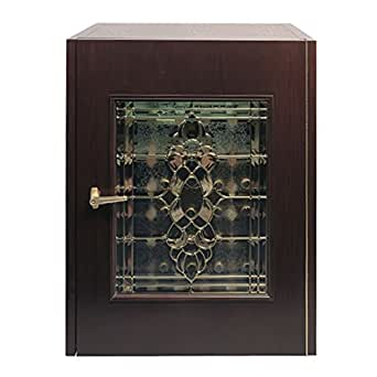 Vinotemp Home Kitchen Restaurant Cocktail Party 100WC-Model Economy Wine Cabinet with Beveled Glass Door