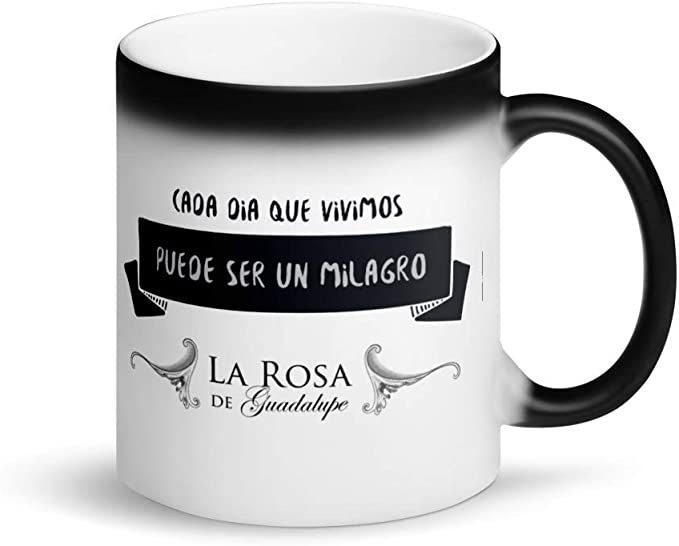 Amazon.com: La Rosa de Guadalupe Magic Mug: Kitchen & Dining