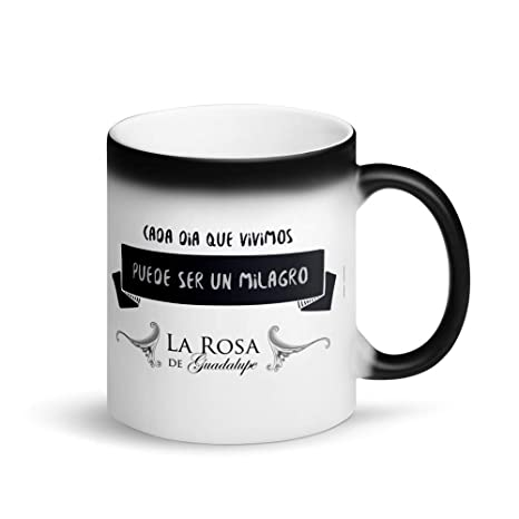 Amazon.com: La Rosa de Guadalupe Magic Mug: Kitchen & Dining