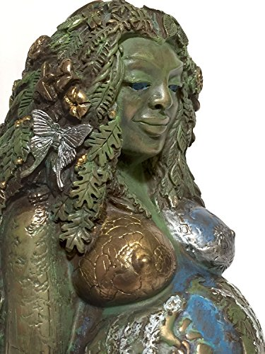 Mythic Images Gaia Mother Earth Goddess ~ Special Edition ~ Hand Tinted Bronze Finish ~ Te Fiti Goddess (Photographer Statue)