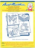 Aunt Martha hot iron transfers #3585 - Kitchen Usefulness. This vintage-style transfer has been retired. The transfer sheet is unused & uncut. This is a great buy for the collector or hobbyist!! These designs would make really cute dish towels, d...