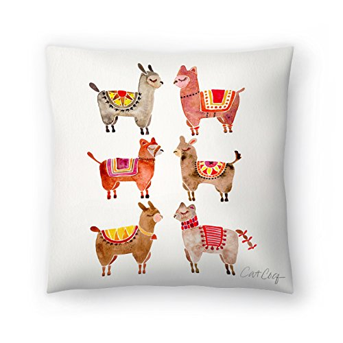 Americanflat Alpacas Pillow by Cat Coquillette, 16