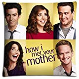 16x16inch 40x40cm sofa pillow protector case Cotton & Polyester lightweight ease How I Met Your Mother