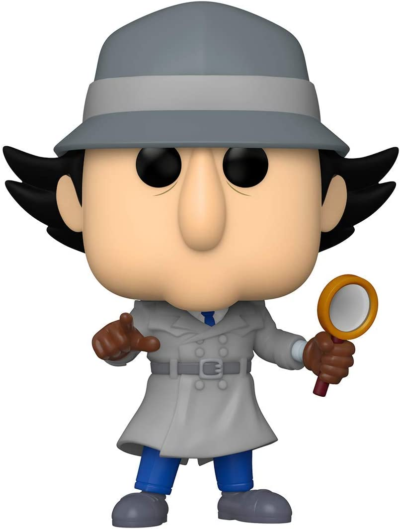 Funko- Pop Animation Inspector Gadget w/Chase (Styles May Vary) Figura Coleccionable, Multicolor (49268)