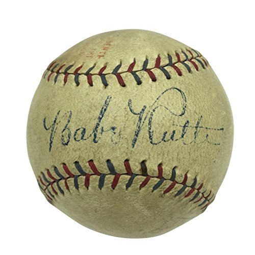 Babe Ruth Signed Baseball - Stunning 1929 Single American League COA - JSA Certified - Autographed Baseballs Babe Ruth Autographs