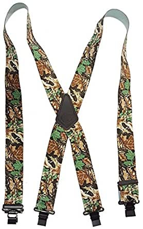 "ADVANTAGE CAMOUFLAGE - USA MADE CUSTOM SUSPENDERS - 2"" WIDE - STRONG METAL CLIPS - 02060 - 48"""