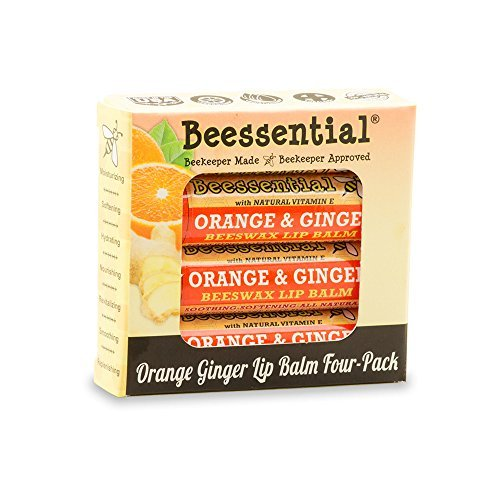 Beessential Orange Ginger (4 Pack) by Beessential