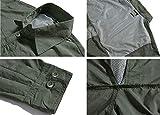 TACVASEN Men's Quick Dry UV Protection Zipper