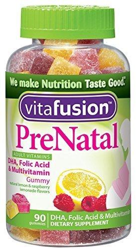 Vitafusion дородовой, жевательные витамины, 90 капсул Vitafusion