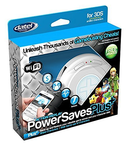 Power Slot Plus (Datel DUS0397 Action Replay PowerSavesPlus+ for Nintendo 3DS (Wi-Fi))