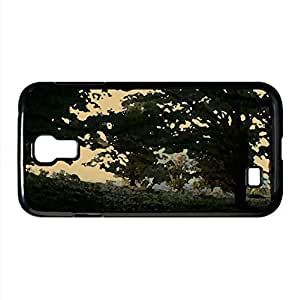 Forest Dual Monitor Watercolor style Cover Samsung Galaxy S4 I9500 Case (Forests Watercolor style Cover Samsung Galaxy S4 I9500 Case)