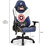 Licensed-Marvel-Avengers-Captain-America-Superhero-Ergonomic-High-Back-Swivel-Racing-Style-Desk-Home-Office-Executive-Computer-Video-Gaming-Chair-with-Headrest-and-Lumbar-Support-Neo-Chair