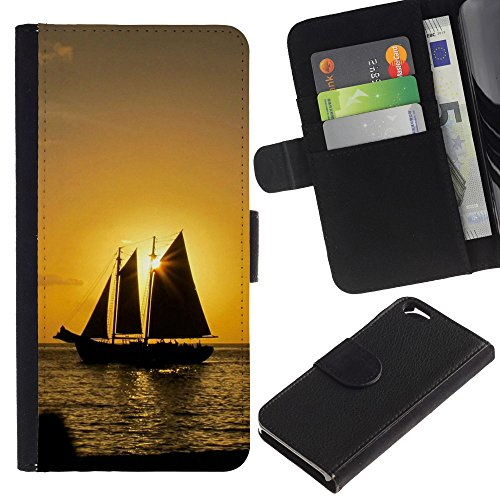 OMEGA Case / Apple Iphone 6 4.7 / WALK AS CHILDREN OF LIGHT - EPHENSIANS 5:8 / Cuir PU Portefeuille Coverture Shell Armure Coque Coq Cas Etui Housse Case Cover Wallet Credit Card