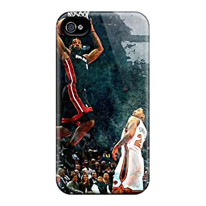 Brand New 4/4s Defender Case For Iphone (heat Lebron James)