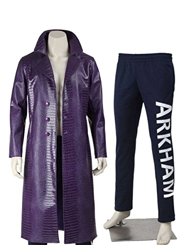 BNH Jared Leto Suicide Squad Crocodile Leather Coat With Arkham Pant 50% (50% Off Leather)