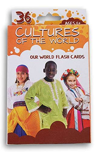 Flash Cards Cultures of The World 36 Card Pack