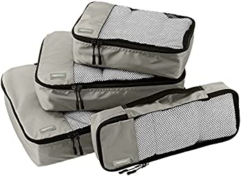 AmazonBasics 4-Piece Packing Cube Set