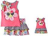Dollie & Me Girls' Sunshine Daisy Skirt Set