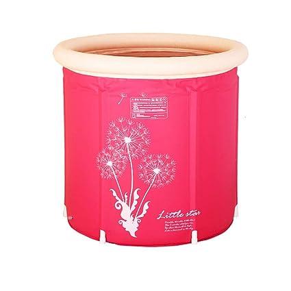 Amazon Com Zr Portable Bathtub Japanese Soaking Bath Tub For