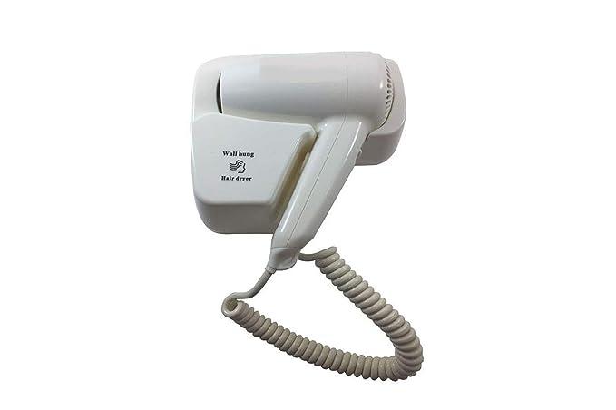 Secador de pelo Secador de pared pared casa Albergo 1200 W Hair Dryer