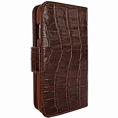 Piel Frama Wallet Case for Apple iPhone 6 Plus - Crocodile Brown by Piel Frama (Image #1)