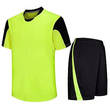 Leistungssportbekleidung preisreduziert sehr günstig KINDOYO Kinder Herren Fußball Kleidung Kit Sportbekleidung ...