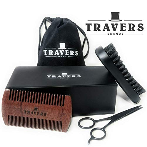 Travers Brands Grooming Mustache Sandalwood product image