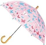 Hatley Little Girls'  Umbrella, Flying Butterflies, One Size