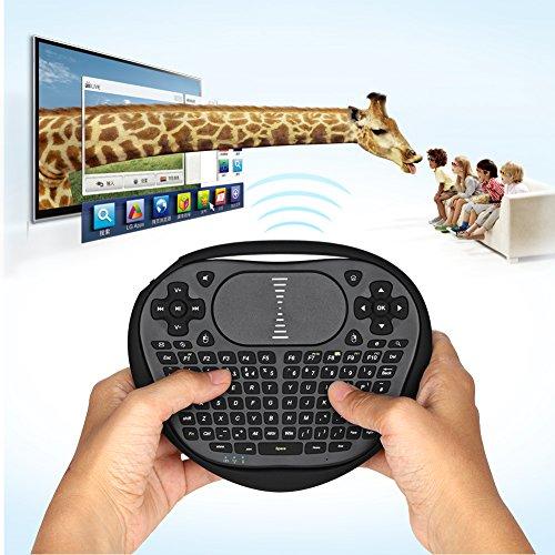 ANEWKODI T8 2.4GHz Handheld Mini Wireless Keybo...