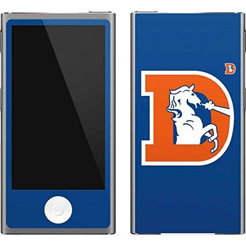 - Skinit NFL Denver Broncos iPod Nano (7th Gen&2012) Skin - Denver Broncos Retro Logo Design - Ultra Thin, Lightweight Vinyl Decal Protection