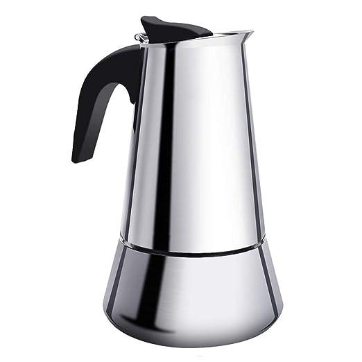 Keyobesa Cafetera Espresso 300 Ml Inducción Creativa ...