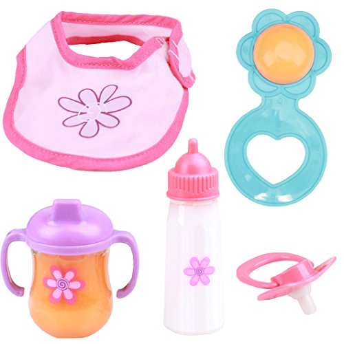 Mommy & Me Baby Doll Feeding Set