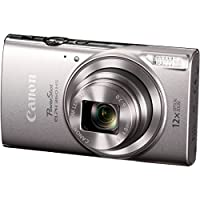 Canon PowerShot ELPH 360 HS Digital Camera w/SD Card & Accessory Bundle by Canon