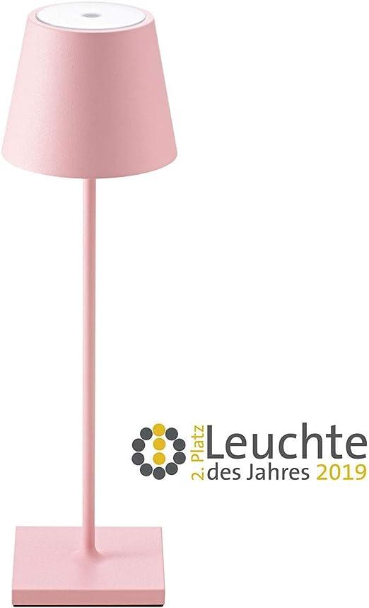 NUINDIE - Lámpara LED de mesa con batería para jardín y terraza ...
