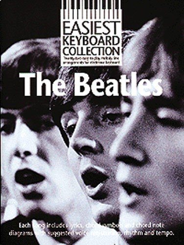 Easiest Keyboard Collection The Beatles Melody Lyrics