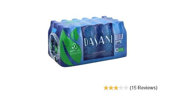 Dasani Purified Water, 16 9 Fl Oz (24 Count)