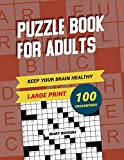 Keep Your Brain Healthy! Puzzle Book For Adults 100
