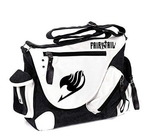Fairy Tail Bag (Siawasey Fairy Tail Anime Cosplay Backpack Messenger Bag Shoulder)